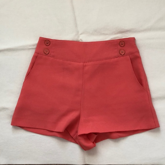 Forever 21 Pants - Light Pink High Waisted Shorts